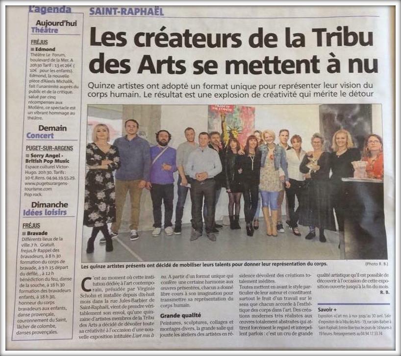 Les créateurs de la tribu des Arts