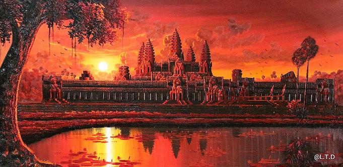 1-Artiste Lyte. 70x140cm Angkor.