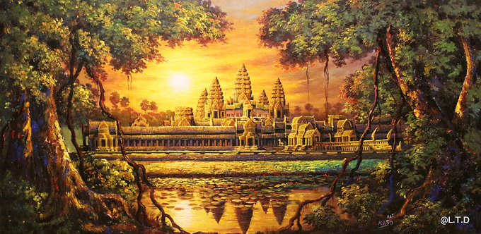Angkor Wat @rtist kaso