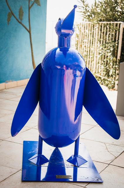Penguin bleu Acier