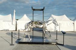 Mechanical Horse Adrian Landon Metal Sculpture