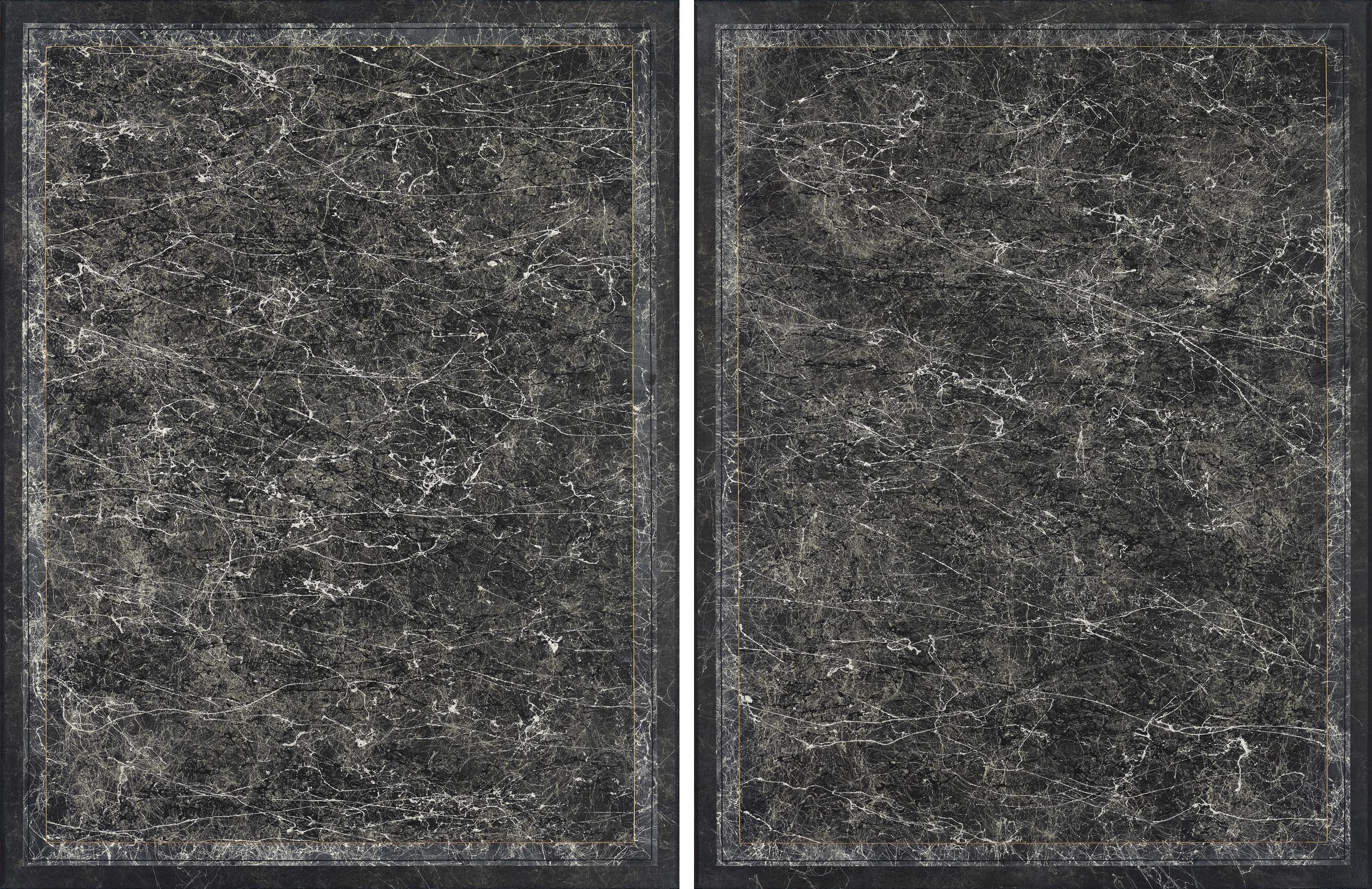 Untitled (slate #1 & #2)