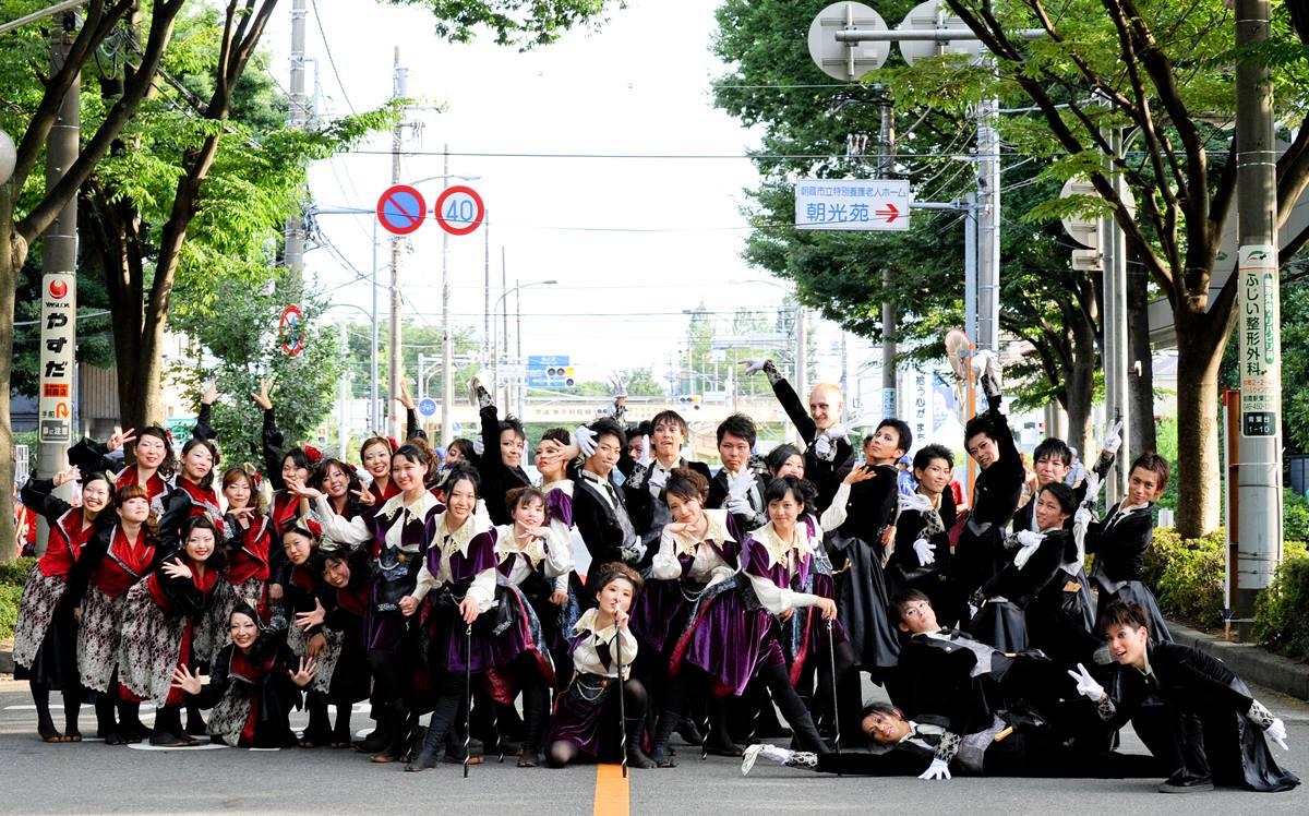 朝霞市民祭り 彩夏祭2014