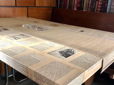 Tisch Bücherseiten