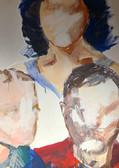 Wandmalerei von ana negrea