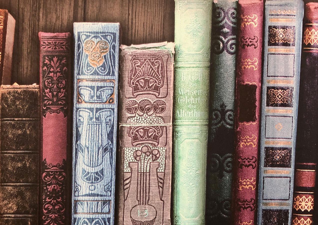 Büchertapete