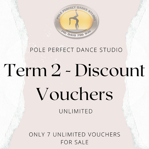 Term 2 Unlimited Discount Voucher