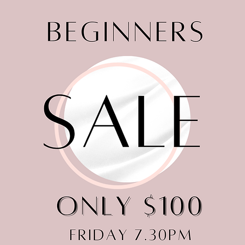 Beginners $100 Friday 7.30pm 9 Week Pole Course