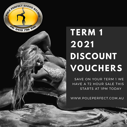 Discount Vouxher Term 1 2020  x 10 WEEK TERM 4 2020