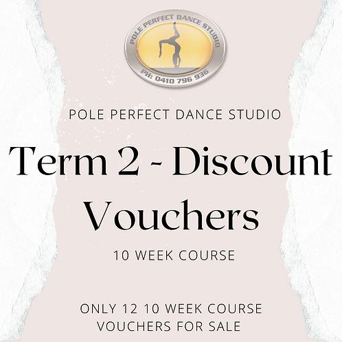 Term 2 Discount Voucher 10 Week Term