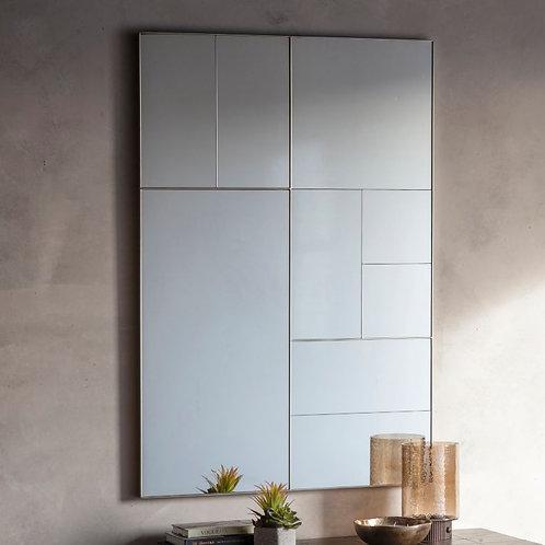 Altrincham Rectangle Mirror - Silver