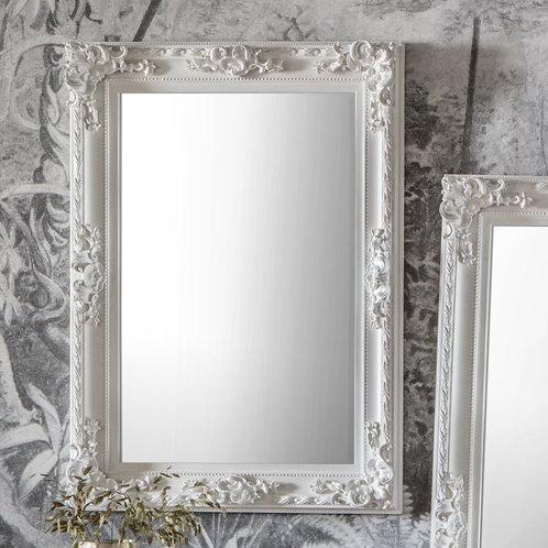 Altaf Rectangle Mirror - White