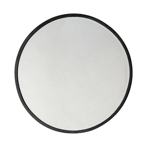 Ashley Large Round Mirror - Black