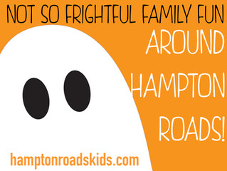 Not So Frightful Halloween Fun in Hampton Roads