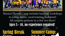 Summer Camps and Programs 2018