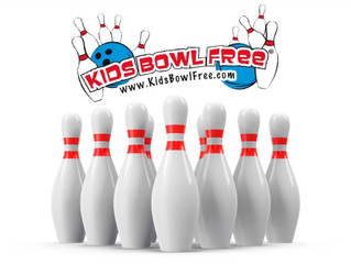 DON'T ROLL PASS THIS OFFER! KIDS BOWL AND SKATE FREE IN THE SUMMER!