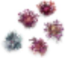 Anodised aluminium jewellery cluster brooches meghan o'rourke