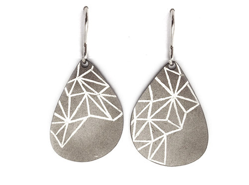 Meteoric Organic Form Earrings