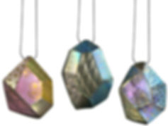 Titanium Jewellery Brooch Meghan O'Rourke