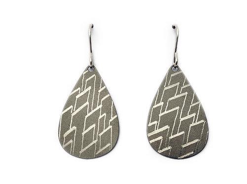 Meteoric Organic Form Earrings