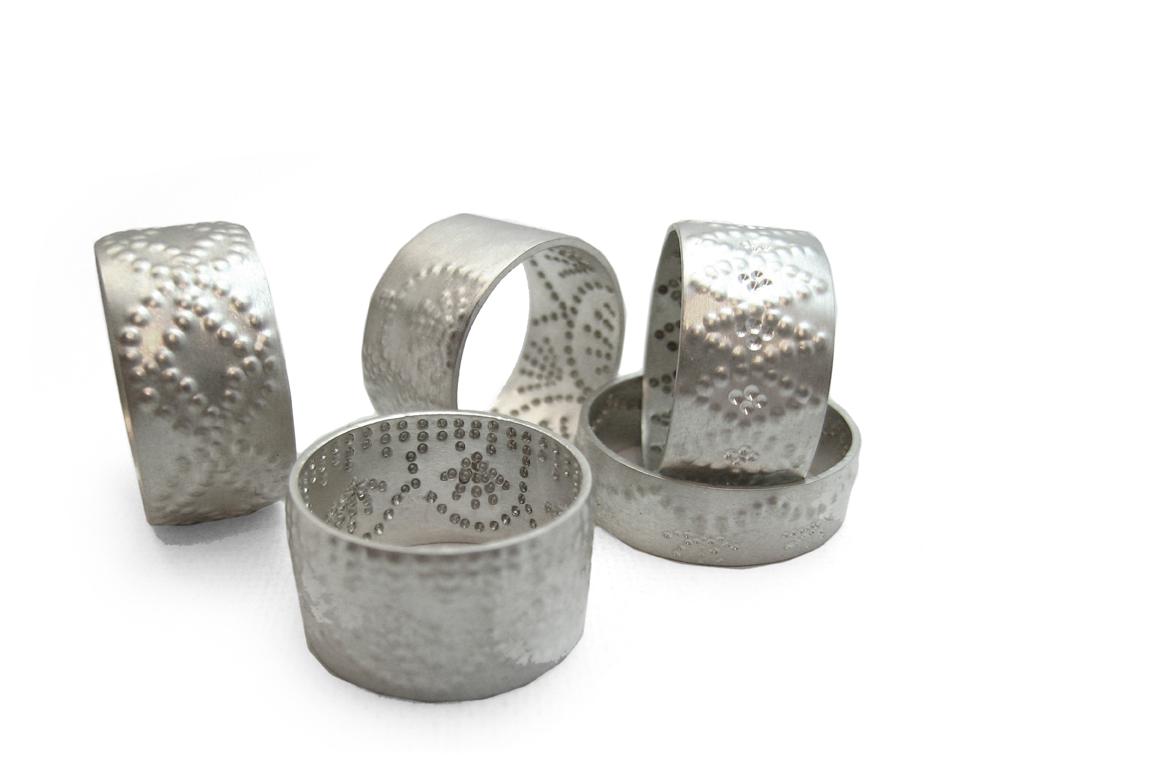 Silver Jali Rings Meghan ORourke