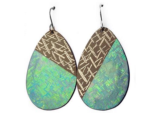 Half 'n' Half Meteoric Earrings