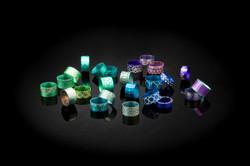 aluminium jewellery Rings
