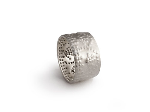 Sterling Silver Jali Ring