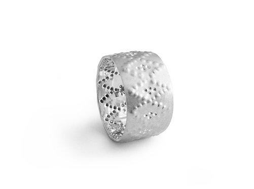 Sterling Silver Jali Ring