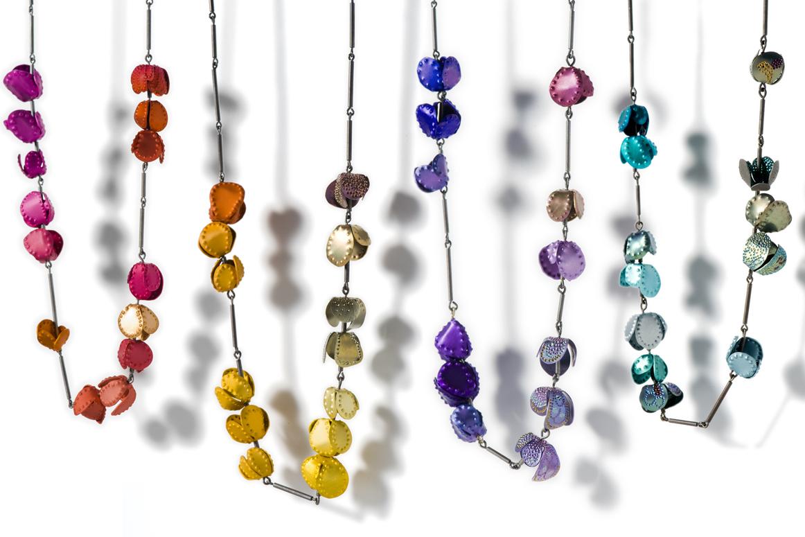 aluminium jewellery anodised