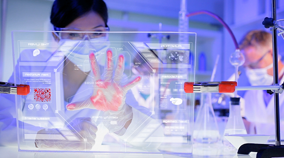 captive touch screens