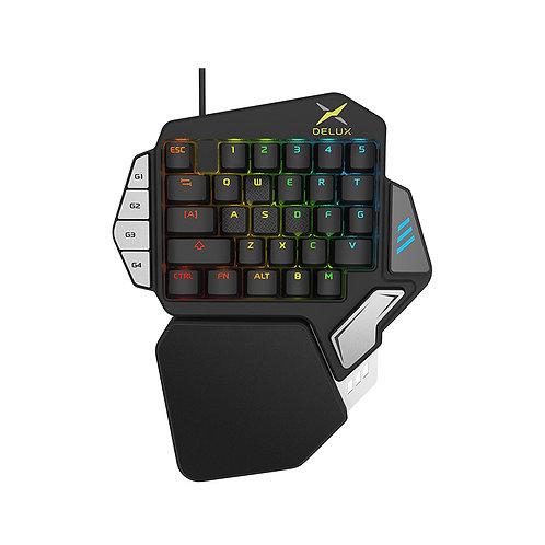 DELUX シングルハンドキーボード T9X