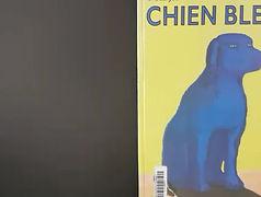 Livre - Chien bleu