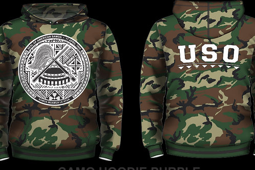 USO ARMY WHITE