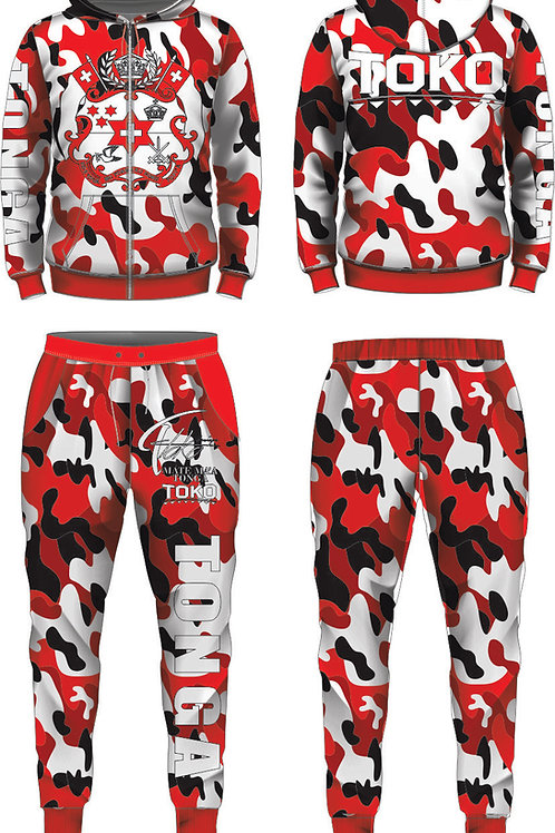 MMT TOKO RED ARMY JUMPSUIT