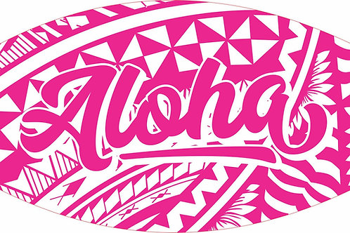 ALOHA PINK COLORWAY MASKS