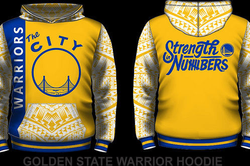 THROWBACK GSW GOLD HOODIE