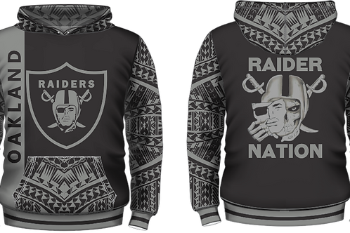 YOUTH SIZES Oakland Raiders