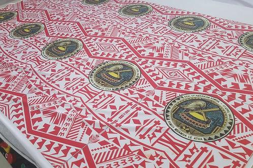 AMERICAN SAMOA GAITOR WHT/RED