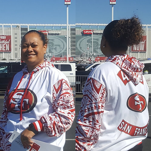 49ERS WHITE COLORWAY DRI-FIT