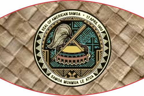 AM SAMOA FALA MASKS