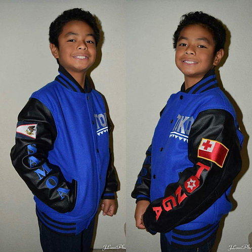 YOUTH LETTERMAN JACKET