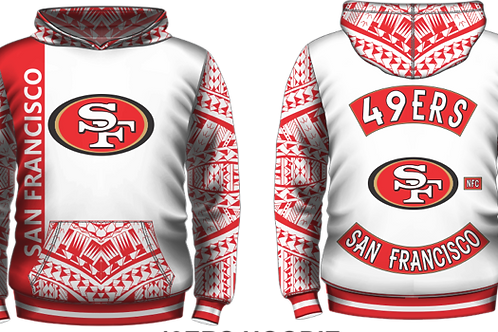 YOUTH SIZES SF 49ERS WHITE COLORWAY