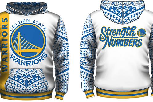 YOUTH SIZES White Golden State Warriors