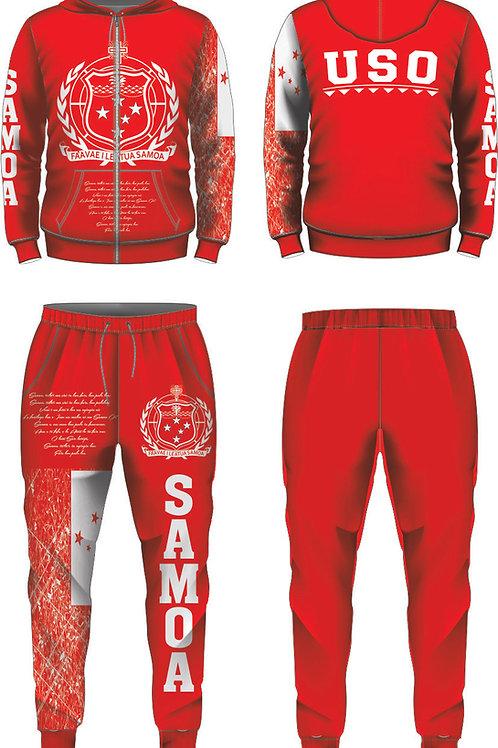 SAMOA RED JUMPSUIT