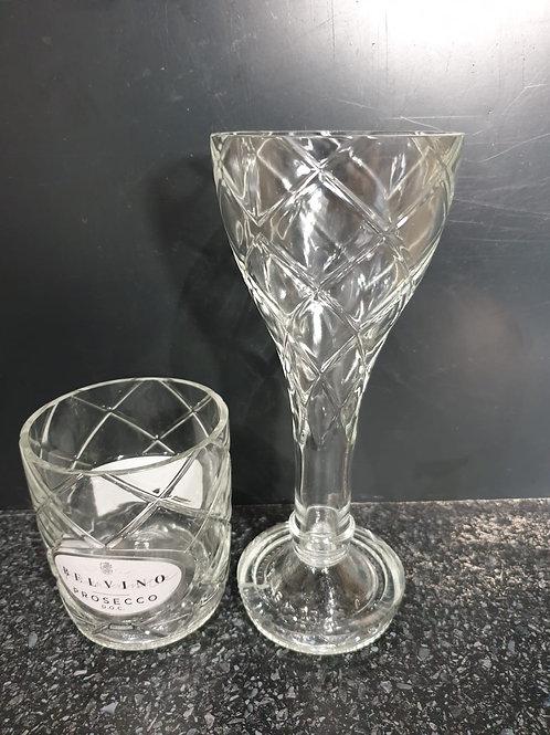 Belvino Prosecco Wine Glasses and Tumbler