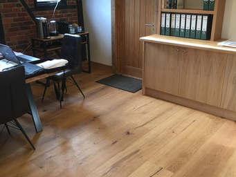 Antique finish Engineered Oak 300mm