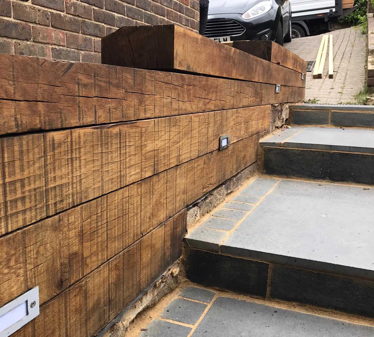 Oak Sleeper Wall