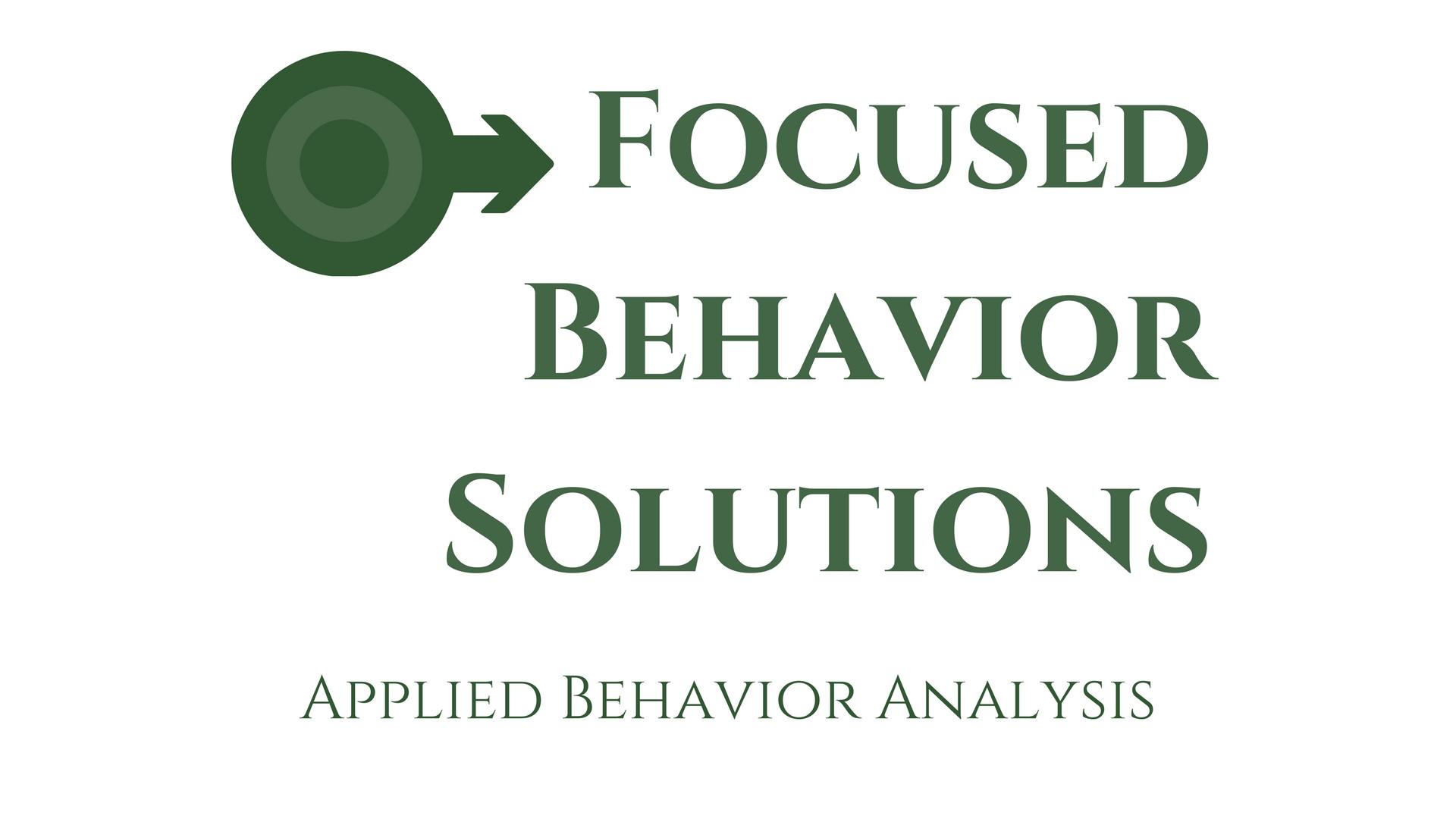 Applied Behavior Analysis | Spokane| Focused Behavior Solutions
