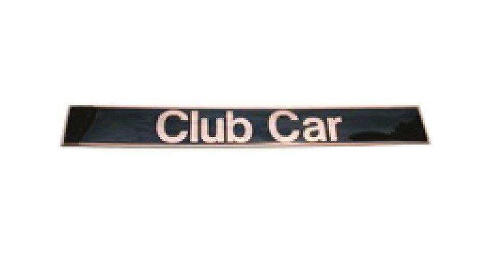 Club Car : Nameplate - Gold